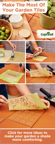 How To Upcycle Your Garden Tiles