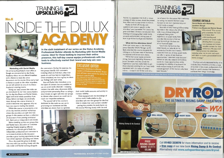 P&D Magazine - My Course